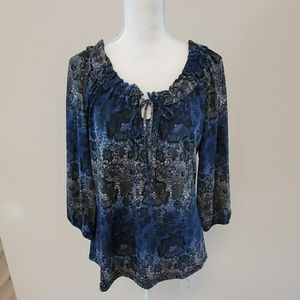 Claudia Richard women's top. Size XL